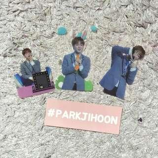 Park Jihoon Transparent Photocards set (Produce 101)