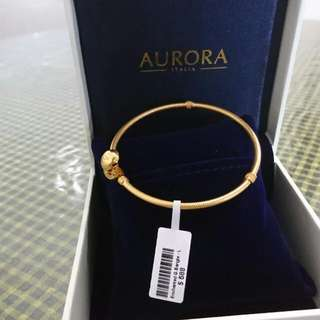 Aurora Italia Bangle 18K Size L