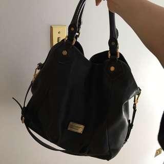 HUGE black Leather Marc Jacobs Bag