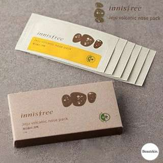 Innisfree Jeju Volcanic Nose Pack (6 Pack)