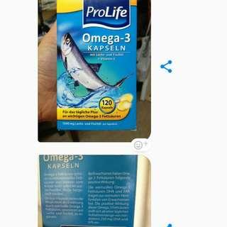 Vitamin Omega Asli Dari Jerman