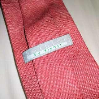 Bernini By Rienzi Red Tie