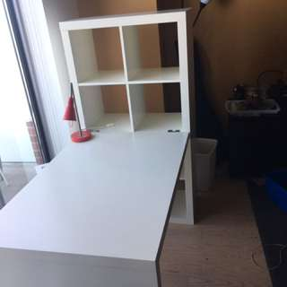 White Desk For Sale !