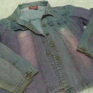 Jaket Jeans Ombre (Askari )