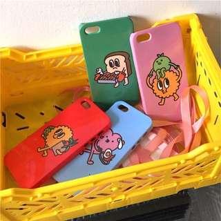 韓國 超可愛餅乾小精靈iphone手機殼