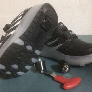 Kids LED Dual Wheel Shoe