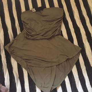 Two Piece Army Green