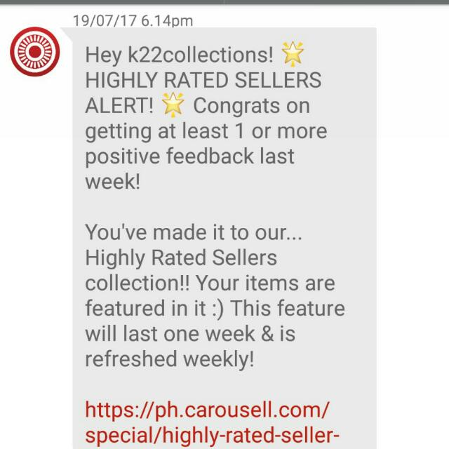 2nd High Rated Seller! 👍👍👍