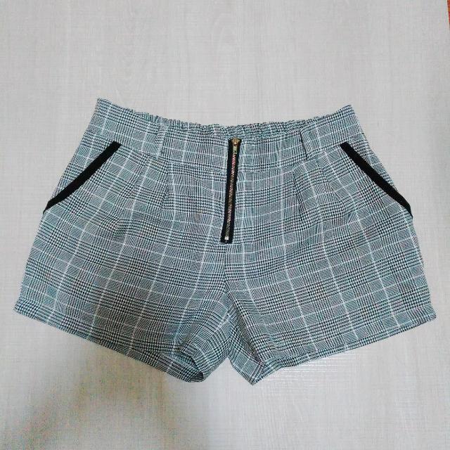 千島紋造型短褲