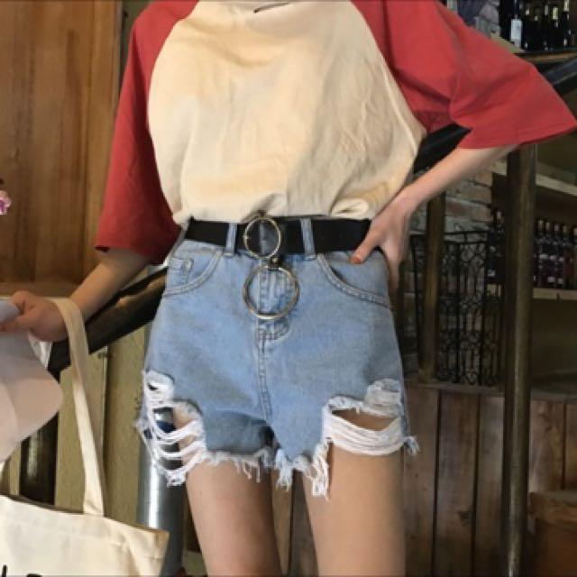 個性牛仔褲