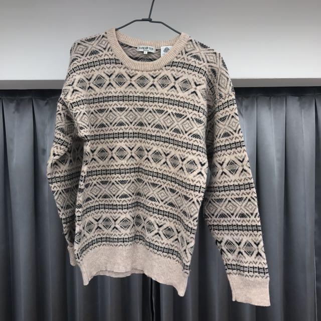古著羊毛毛衣