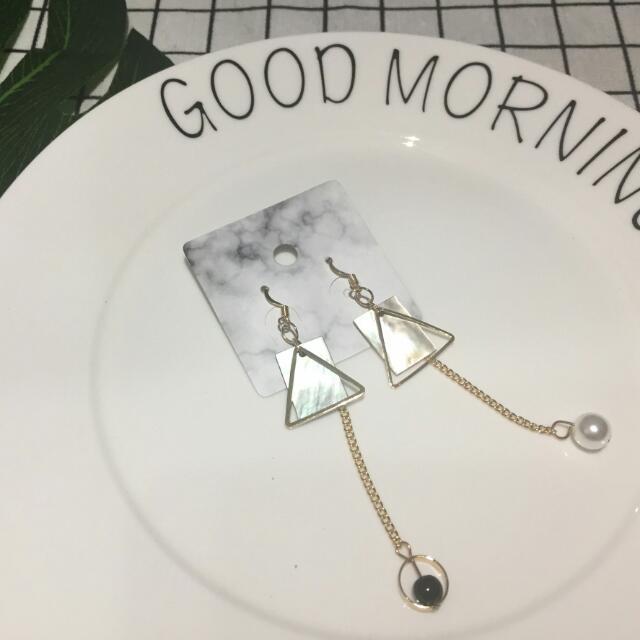 (多款)垂吊式超仙針式耳環
