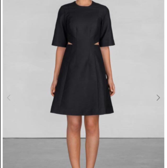 & Other Stories Black Cutout Dress X COS X H&M X ZARA