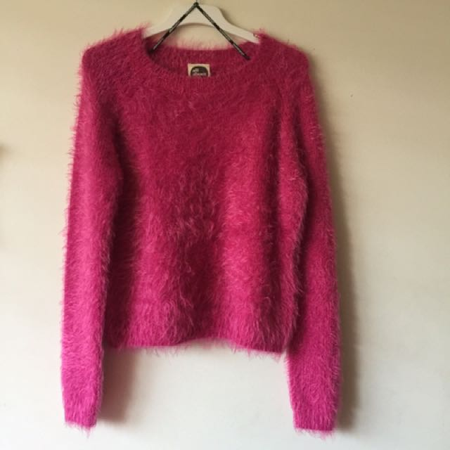 All about Eve pink jumper