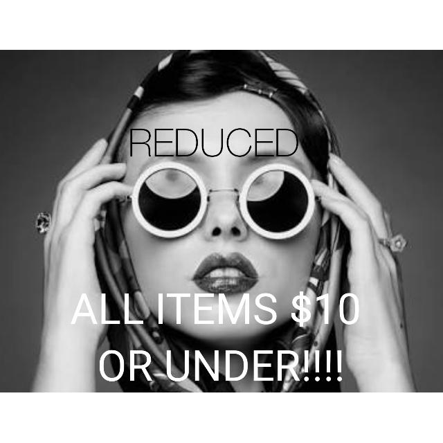 All Items Have Been Reduced!
