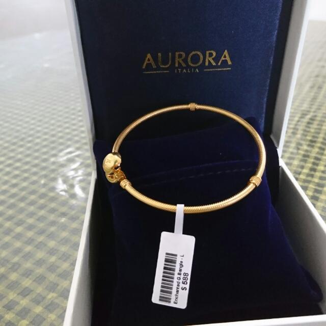 Aurora Italia Bangle 18K Size L