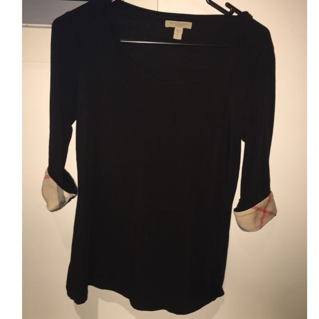 Authentic Burberry Long sleeve Top