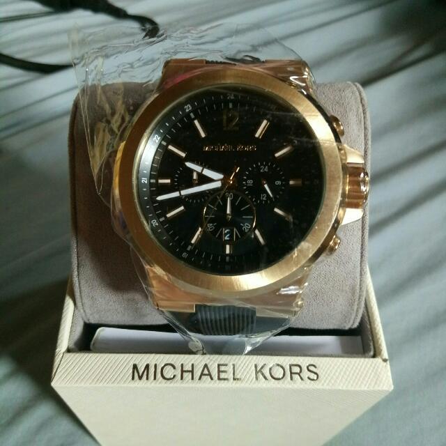 Authentic Michael Kors Watch Gold