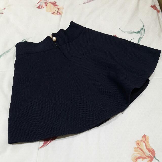 B11 - Royal Blue Skirt