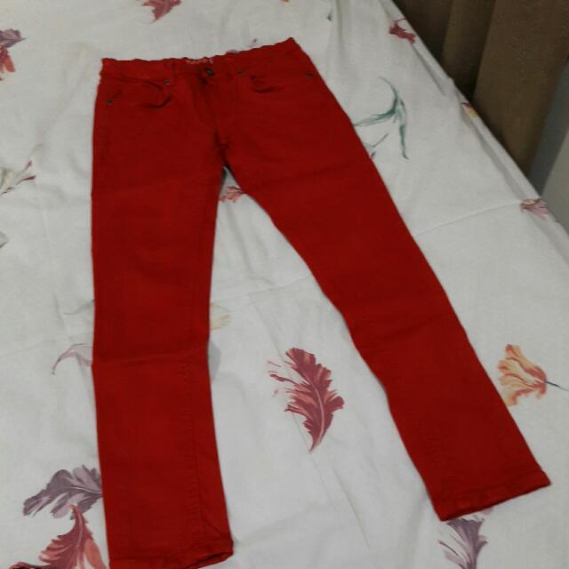 B18 - Miami Beach Red Jegging