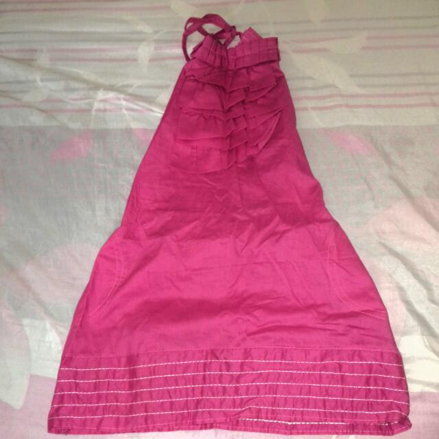 Backless Dress For Kids
