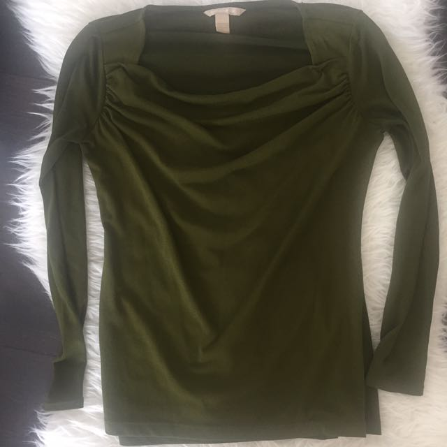 Banana Republic Green Top-XS