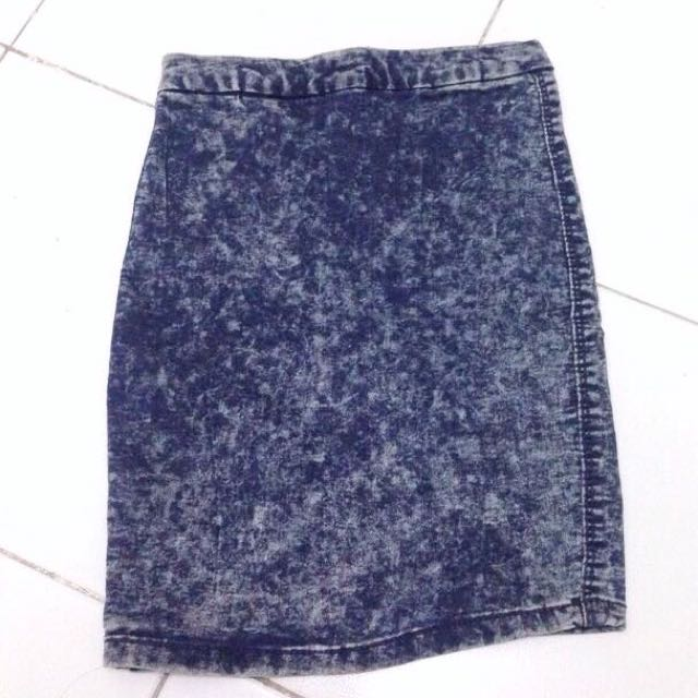 Bershka Span Skirt