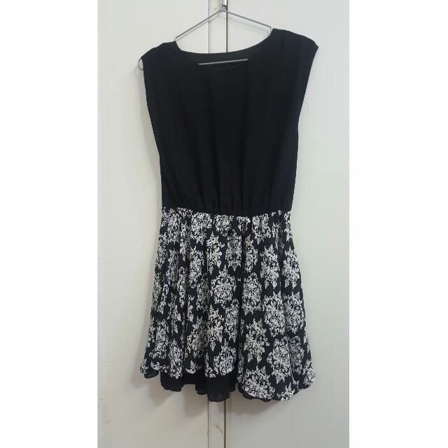Black And White Dress For Office
