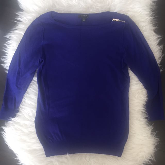 Blue Ann Taylor Sweater- XS