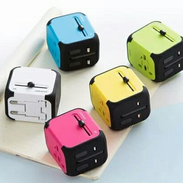 brand new multiple country travel adaptor plug for easy travel