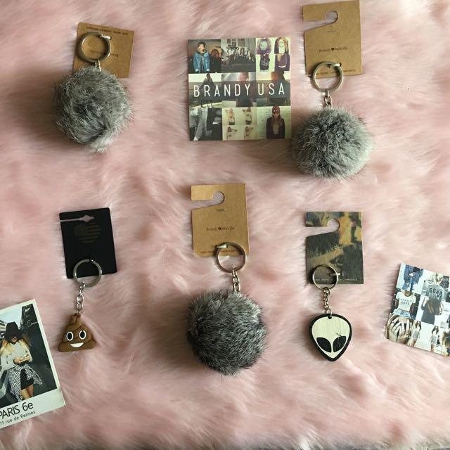 Brandy Melville Keychains