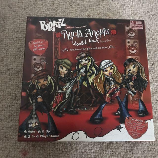 BRATZ ROCK ANGELS WORLD TOUR BOARD GAME