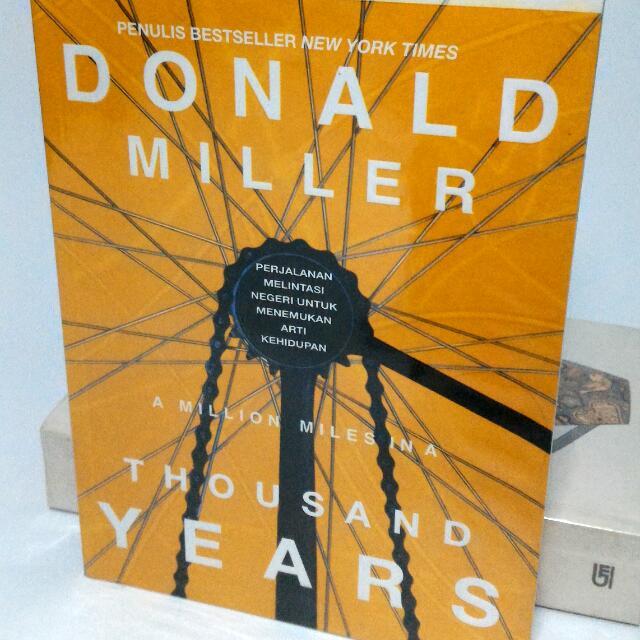 Buku Motivasi Donald Miller