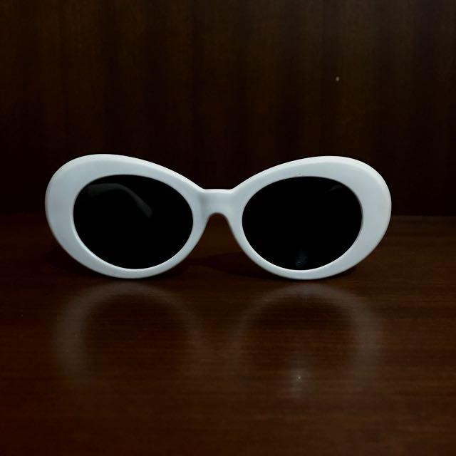 Cake Asia White Sunglasses ( Kurt Cobain )