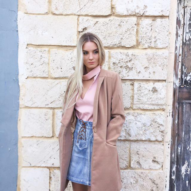 Camel Brown Coat