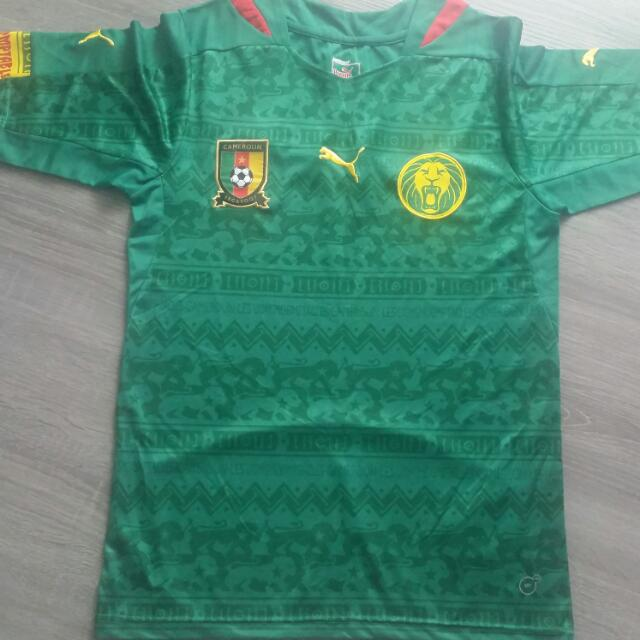 849aa85a012 Cameroon World Cup 2014 Home Kit Size: S Replica, Sports, Sports ...