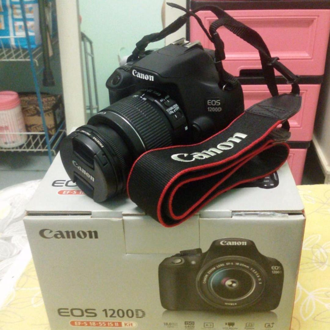 Canon Eos 1200d Kamera Di Carousell Lensa 18 55mm Kit