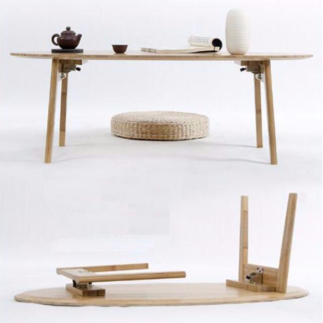 Charmant CFT005 Foldable Solid Wood Coffee Bamboo Tea Table CFT, Furniture, Tables U0026  Chairs On Carousell