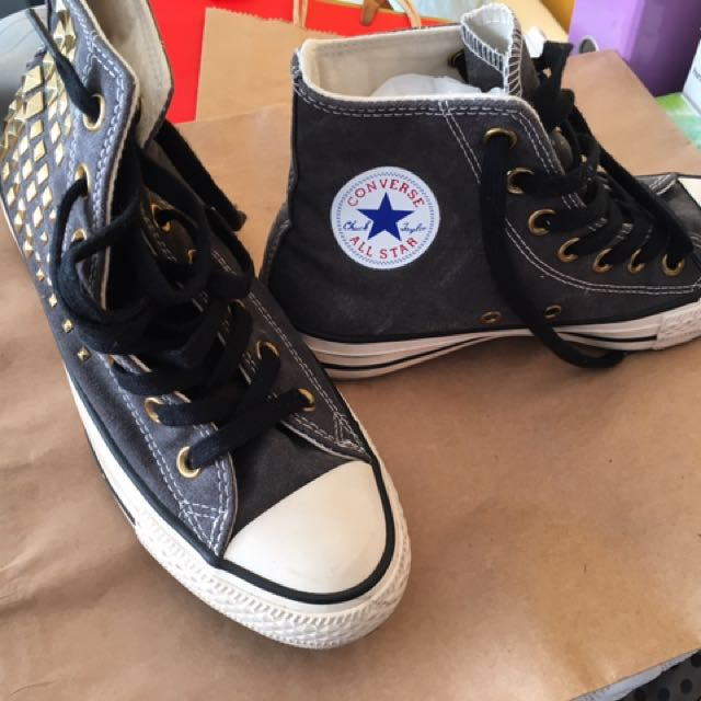 Converse Sneakers With Studs