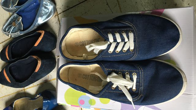 Cotton On Denim Sneakers