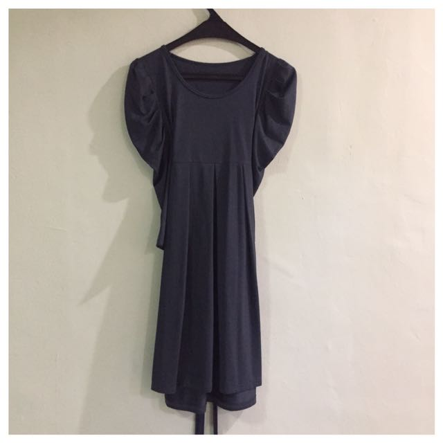 Dark Grey Dress - Preloved