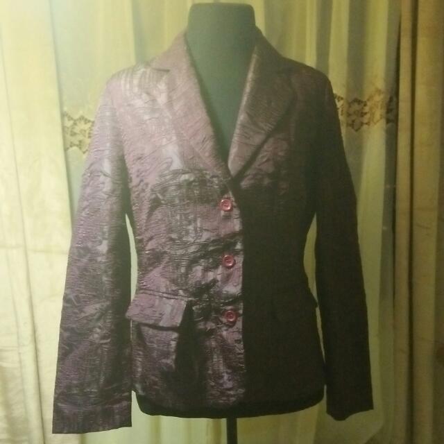 Dark violet Blazer