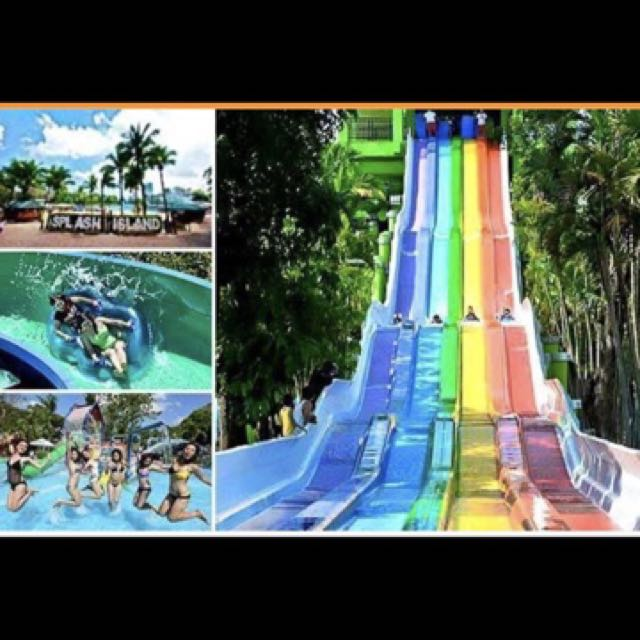 DISCOUNTED SPLASH ISLAND ALL DAY PASS
