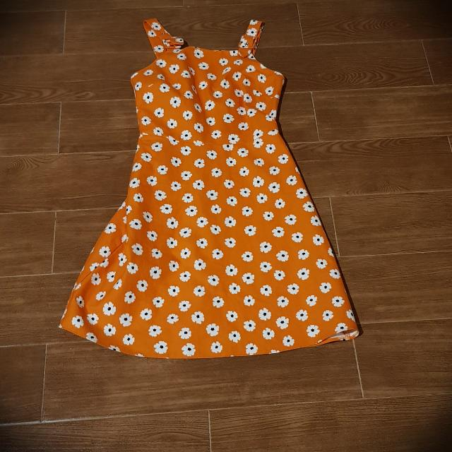 Dorothy Perkins Floral Orange Dress