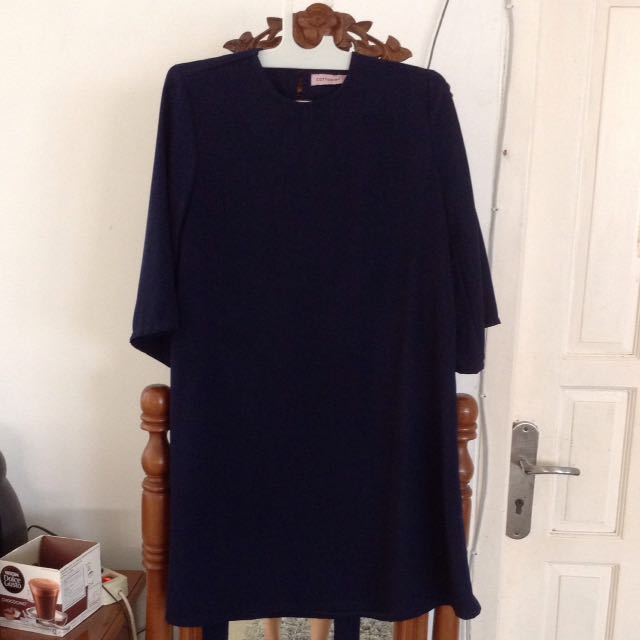 Dress Brand Cottonink Size M (navy)