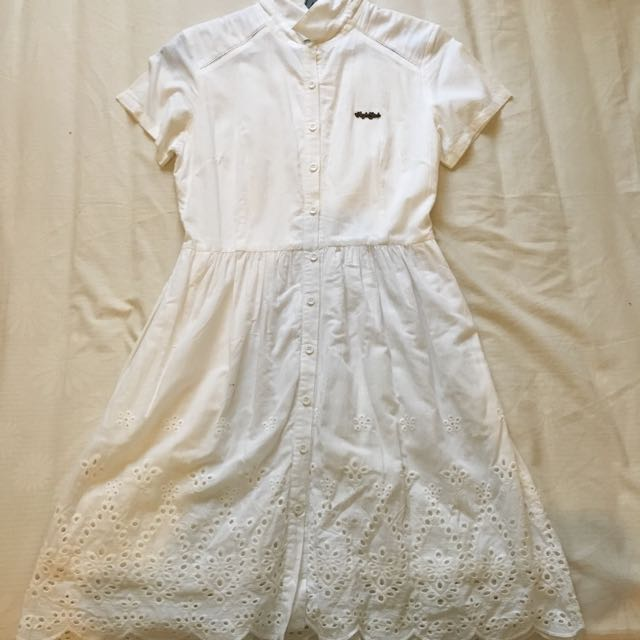 Dress Putih Surfer Girl (Original)