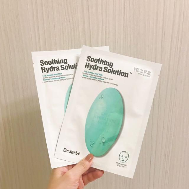 Dr.Jart+綠色藥丸舒敏保濕面膜