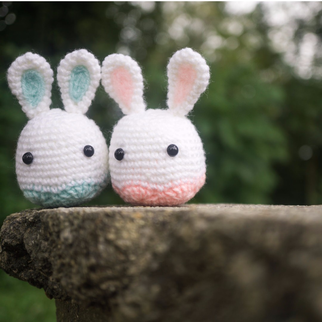 Easter Bunnies Amigurumi
