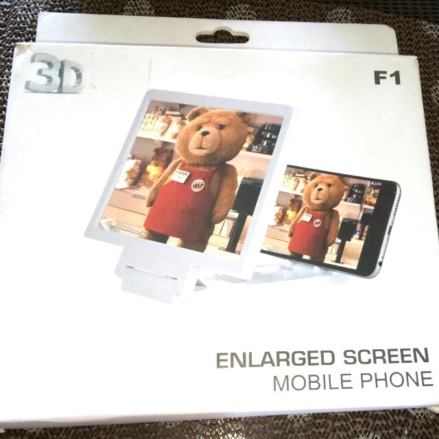 enlarged screen mobile phone