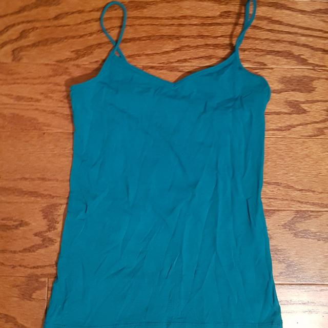 Forever 21 Teal Cami Tank Top